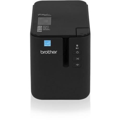 Brother PT P900 Desktop Thermal Transfer Printer   Monochrome   Label Print   USB   Serial Alternate-Image1/500