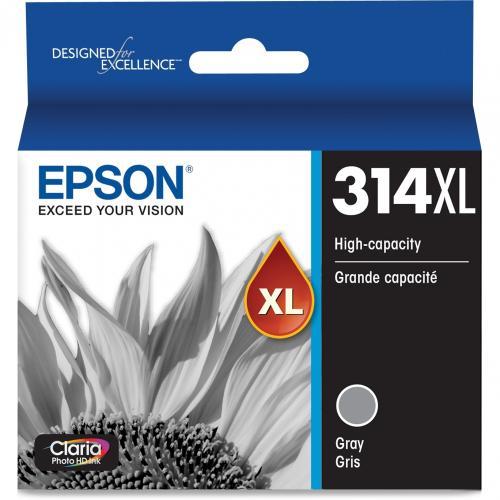 Epson Claria Photo HD T314XL Original Ink Cartridge   Gray Alternate-Image1/500