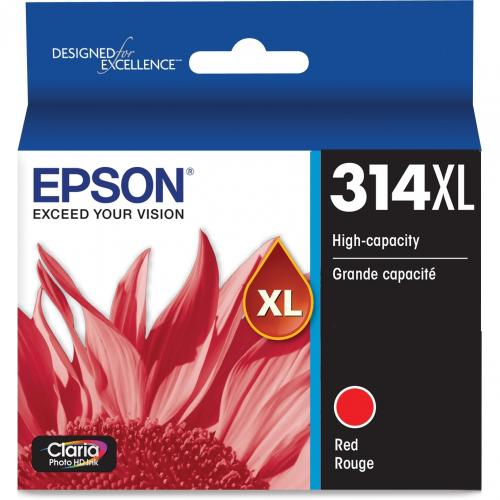Epson Claria Photo HD T314XL Original Ink Cartridge   Red Alternate-Image1/500