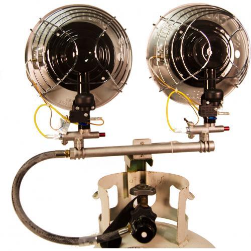 DuraHeat TT 30CSA Propane(LP) Double Tank Top Heater With Tip Over Shut Off Alternate-Image1/500