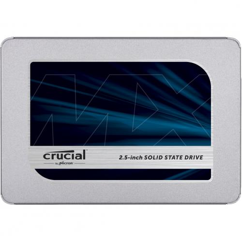 "Crucial MX500 500 GB Solid State Drive   2.5"" Internal   SATA (SATA/600) Alternate-Image1/500"
