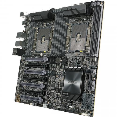 Asus WS C621E SAGE Workstation Motherboard   Intel Chipset   Socket P LGA 3647   SSI EEB Alternate-Image1/500