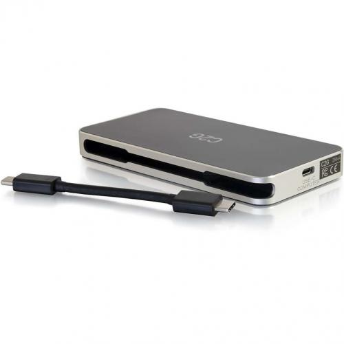 C2G USB C Dock With HDMI, DisplayPort, VGA & Power Delivery Up To 60W Alternate-Image1/500
