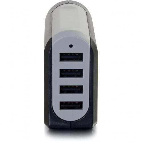 C2G 4 Port USB Wall Charger   AC To USB Adapter, 5V 4.8A Output Alternate-Image1/500