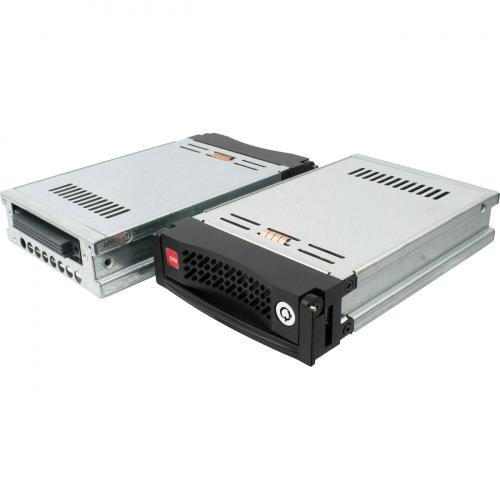 "CRU Data Express DE110 Drive Bay Adapter For 5.25"" Internal   Black Alternate-Image1/500"