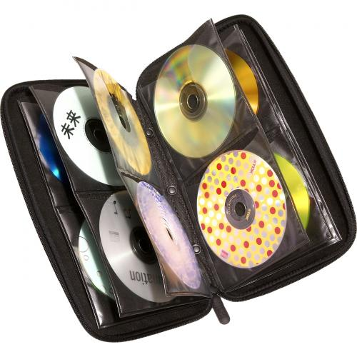 Case Logic 72 Capacity Heavy Duty CD Wallet Alternate-Image1/500