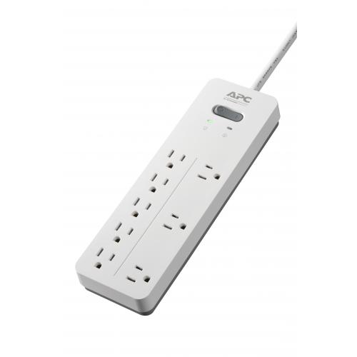 APC By Schneider Electric SurgeArrest Home/Office 8 Outlet Surge Suppressor/Protector Alternate-Image1/500