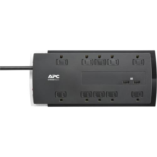 APC By Schneider Electric SurgeArrest Performance 10 Outlet Surge Suppressor/Protector Alternate-Image1/500