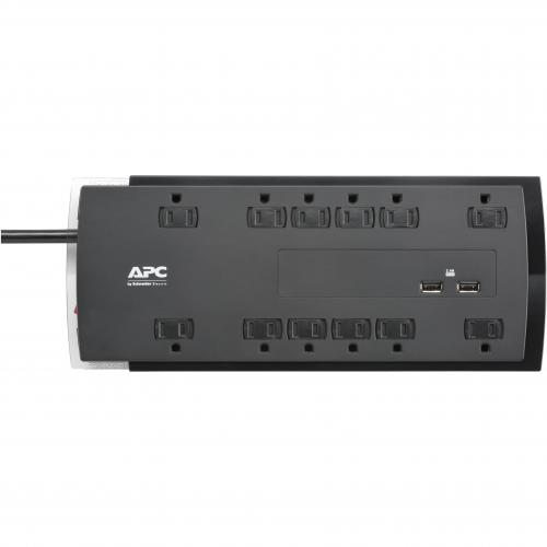 APC By Schneider Electric SurgeArrest Performance 12 Outlet Surge Suppressor/Protector Alternate-Image1/500