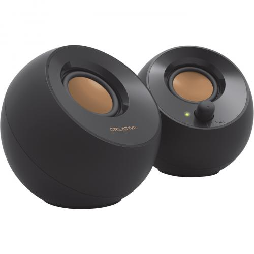 Creative Pebble 2.0 Speaker System   4.40 W RMS   Black Alternate-Image1/500
