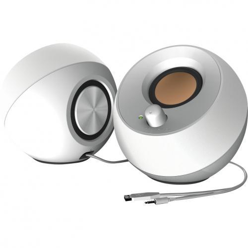 Creative Pebble 2.0 Speaker System   4.40 W RMS   White Alternate-Image1/500