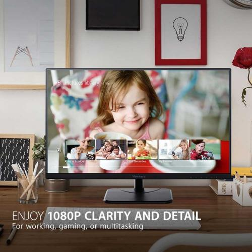 "Viewsonic VA2256 MHD 21.5"" Full HD WLED LCD Monitor   16:9   Black Alternate-Image1/500"