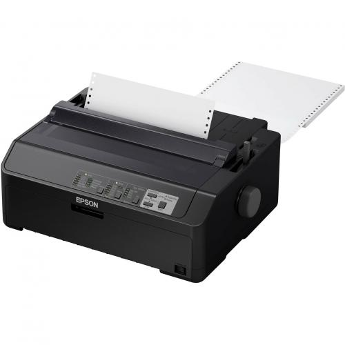 Epson LQ 590II 24 Pin Dot Matrix Printer   Monochrome   Energy Star Alternate-Image1/500