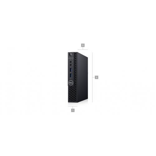 OPTIPLEX 3060 CORE I3 8 8100T 8GB 1DIMMS 500GB 7.2K W9377 W10 Alternate-Image1/500