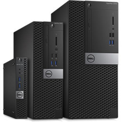 OPTIPLEX 3060 CORE I5 8 8500 8GB 1DIMMS 1TB 7.2K NO W10 Alternate-Image1/500