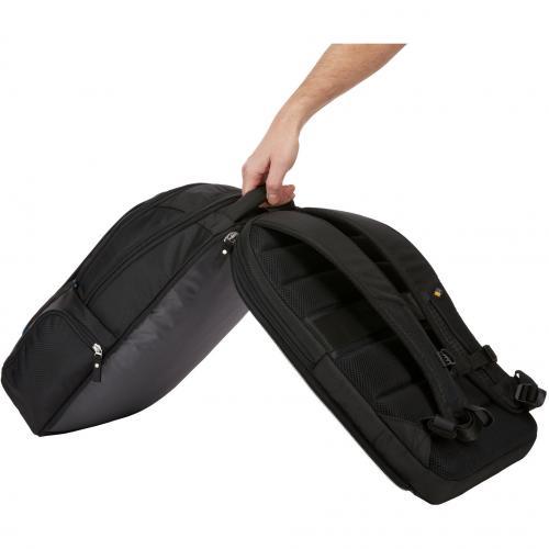 """Case Logic BEBP 315 BLACK Carrying Case (Backpack) For 15.6"""" Notebook   Black Alternate-Image1/500"""
