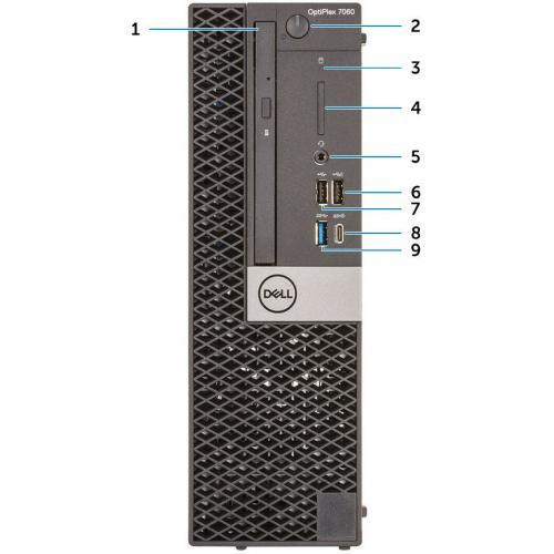 OPTI 7060 SFF DT I5/3.0 6C 4GB 500GB W10 Alternate-Image1/500