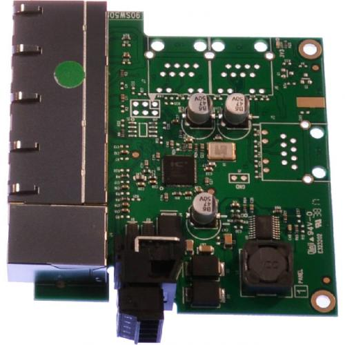 Brainboxes Industrial Embeddable 5 Port Ethernet Switch Alternate-Image1/500