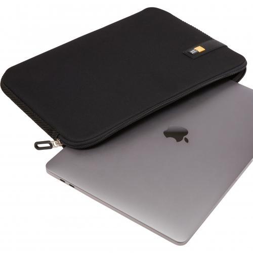 "Case Logic LAPS 213 BLACK Carrying Case (Sleeve) For 13.3"" Apple Notebook, MacBook Pro   Black Alternate-Image1/500"