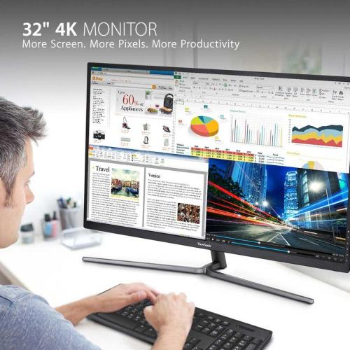 "Viewsonic VX3211 4K MHD 31.5"" 4K UHD WLED Gaming LCD Monitor   16:9   Black Alternate-Image1/500"