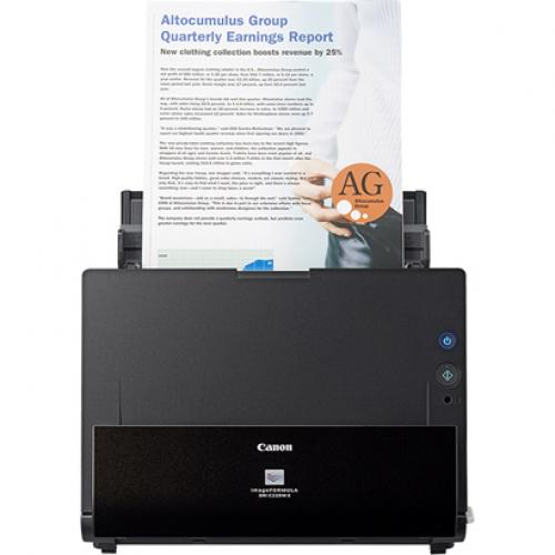 Canon ImageFORMULA DR C225W II Flatbed Scanner   600 Dpi Optical Alternate-Image1/500