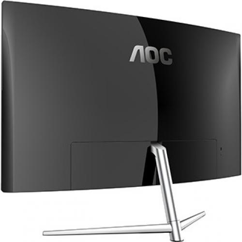 "AOC C32V1Q 31.5"" Full HD Curved Screen LCD Monitor   16:9   Black, Silver Alternate-Image1/500"