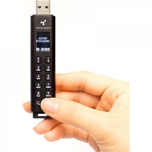 Sentry K300 Encrypted Keypad Micro SSD 64GB Flash Drive Alternate-Image1/500