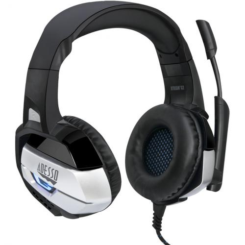Adesso Stereo USB Gaming Headset With Microphone Alternate-Image1/500