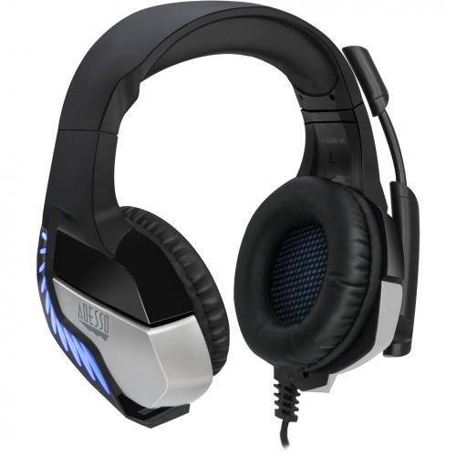 Adesso Virtual 7.1 Surround Sound Gaming Headset With Vibration Alternate-Image1/500