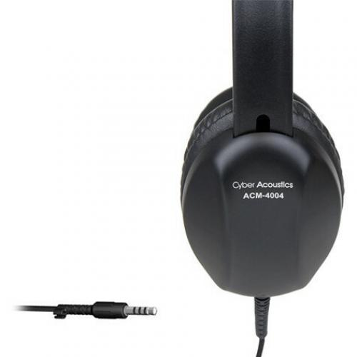 Cyber Acoustics ACM 4004 Headphone Alternate-Image1/500