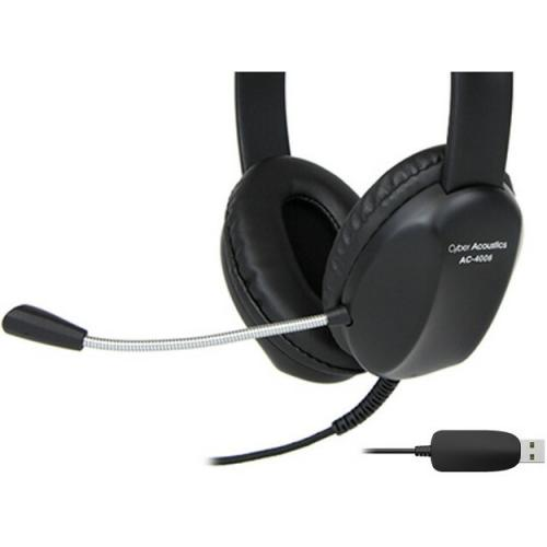 Cyber Acoustics AC 4006 USB Stereo Headset Alternate-Image1/500