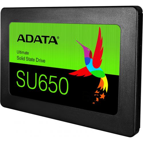 "Adata Ultimate SU650 ASU650SS 120GT R 120 GB Solid State Drive   2.5"" Internal   SATA (SATA/600)   Black Alternate-Image1/500"