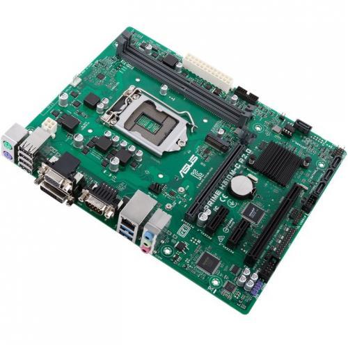 Asus Prime H310M C R2.0/CSM Desktop Motherboard   Intel Chipset   Socket H4 LGA 1151 Alternate-Image1/500