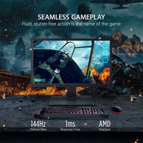 "Viewsonic Elite XG240R 24"" Full HD LED Gaming LCD Monitor   16:9   Black Alternate-Image1/500"
