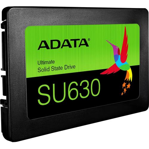 "Adata Ultimate SU630 ASU630SS 480GQ R 480 GB Solid State Drive   2.5"" Internal   SATA (SATA/600)   Black Alternate-Image1/500"