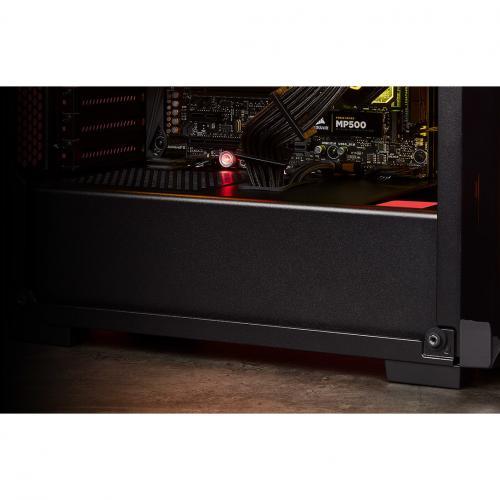 Corsair Carbide Series SPEC DELTA RGB Tempered Glass Mid Tower ATX Gaming Case   Black Alternate-Image1/500