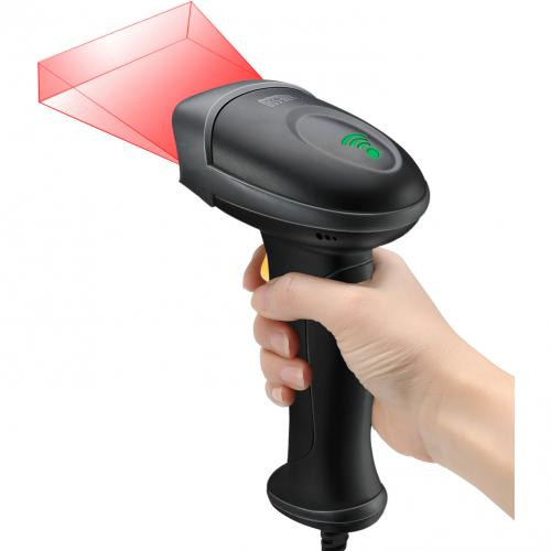 Adesso NuScan 2500TU Spill Resistant Antimicrobial 2D Barcode Scanner Alternate-Image1/500