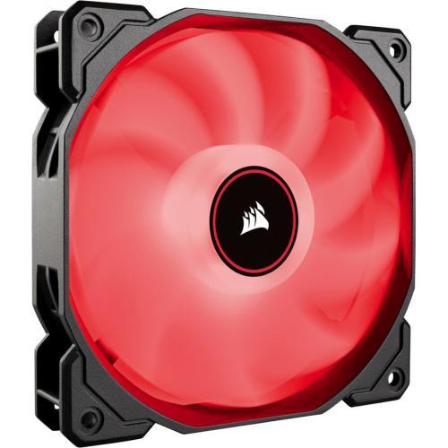 AF120 LED SINGLE PACK LOW NOISE COOLING FAN RED Alternate-Image1/500