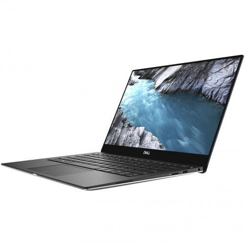 "Dell XPS 13 9380 13.3"" Touchscreen Notebook   Intel Core I7 (8th Gen) I7 8565U Quad Core (4 Core)   8 GB RAM   256 GB SSD   Platinum Silver, Carbon Fiber Black Alternate-Image1/500"