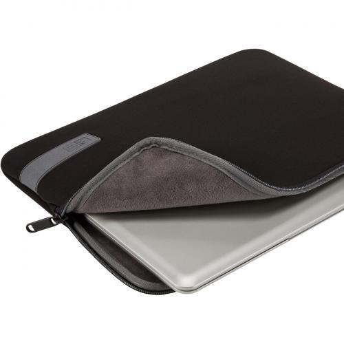 "Case Logic Reflect Carrying Case (Sleeve) For 13"" Notebook   Black Alternate-Image1/500"