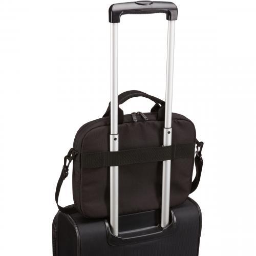 "Case Logic Advantage Carrying Case (Attaché) For 11.6"" Notebook, Tablet PC, Pen, Portable Electronics, Cord, Cellular Phone, File   Black Alternate-Image1/500"