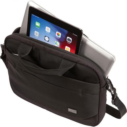 "Case Logic Advantage Carrying Case (Attaché) For 11.6"" Notebook, Tablet PC, Pen, Portable Electronics, Cord, Cellular Phone, File   Dark Blue Alternate-Image1/500"