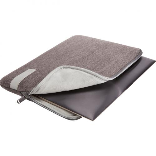 """Case Logic Reflect REFPC 113 GRAPHITE Carrying Case (Sleeve) For 13.3"""" Notebook   Gray Alternate-Image1/500"""