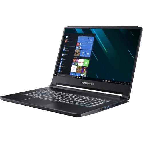 "Acer Predator Triton 500 PT515 51 PT515 51 73Z5 15.6"" Gaming Notebook   Full HD   1920 X 1080   Intel Core I7 I7 9750H Hexa Core (6 Core) 2.60 GHz   32 GB RAM   1 TB SSD   Black Alternate-Image1/500"