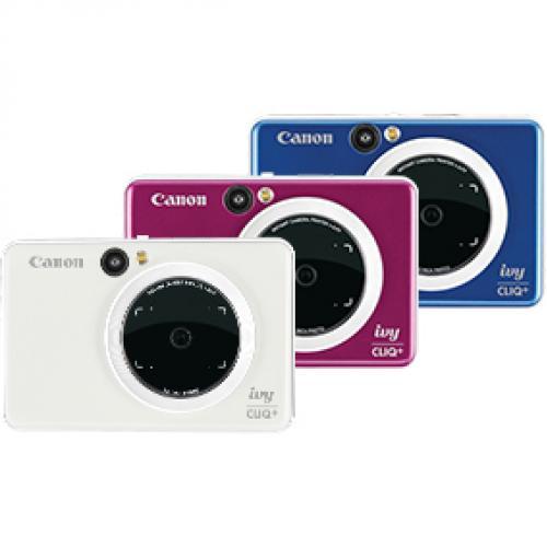 Canon IVY CLIQ+ Instant Digital Camera   Sapphire Blue Alternate-Image1/500