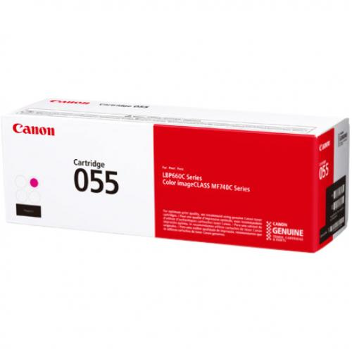 Canon 055 Original Toner Cartridge   Magenta Alternate-Image1/500
