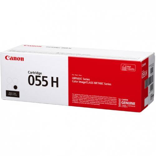Canon 055 Original Toner Cartridge   Black Alternate-Image1/500