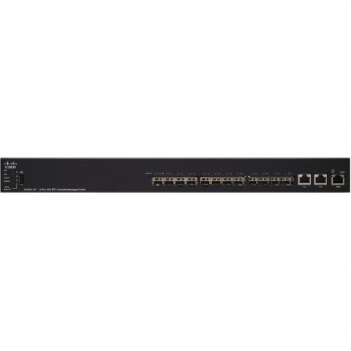 Cisco SX550X 12F 12 Port 10G SFP+ Stackable Managed Switch Alternate-Image1/500
