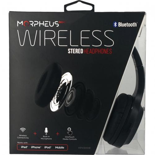Morpheus 360 Tremors Wireless On Ear Headphones   Bluetooth 5.0 Headset With Microphone   HP4500B Alternate-Image1/500