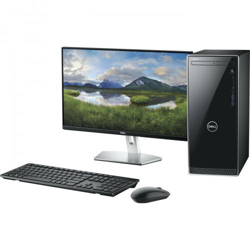 Dell Inspiron 3670 Desktop Computer Intel Core I5 8GB RAM 1TB HDD Black   9th Gen I5 9400 Hexa Core   Intel UHD Graphics 630   Keyboard & Mouse Included   DVD Writer   Mini Tower Form Factor   Windows 10 Home Alternate-Image1/500